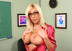 Misty Vonage & Mikey Butders in My First Sex Teacher - Centerfold