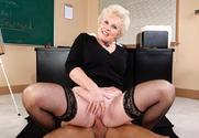 Mrs. Jewell & Alan Stafford in My First Sex Teacher sex pic