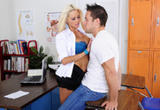 Nikita Von James & Johnny Castle in My First Sex Teacher - Sex Position 1