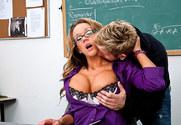 Nikki Sexx & Danny Wylde in My First Sex Teacher story pic