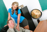 Phoenix Marie & Mark Wood in My First Sex Teacher - Sex Position 1