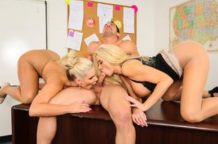 Phoenix Marie, Summer Brielle & Johnny Castle in My First Sex Teacher