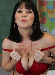 Teacher Porn Video with Ball licking and Big Ass scenes