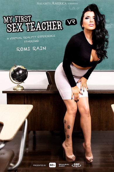 Romi Rain - Naughty America - My First Sex Teacher