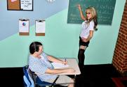 Sarah Jessie & Trent Soluri in My First Sex Teacher - Sex Position 1