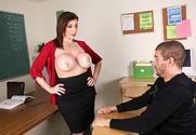 Sara Jay & Xander Corvus in My First Sex Teacher story pic