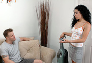 Geena Ginger & Seth Dickens in My Naughty Latin Maid - Sex Position 1