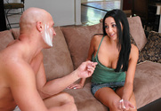 Audrey Bitoni & Christian in My Sisters Hot Friend - Sex Position 1