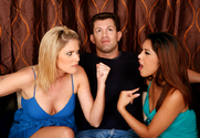 Nautica Thorn & Fayth DeLuca & Chris Cannon in My Sister's Hot Friend