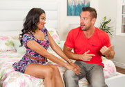 Yasmine de Leon & Johnny Castle in My Sisters Hot Friend - Sex Position 1