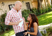Ariella Ferrera & Johnny Sins in My Wife's Hot Friend - Sex Position 1