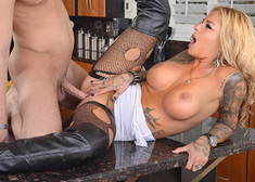 Britney Shannon  & Seth Gamble in My Wife's Hot Friend - Centerfold