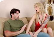 Brooke Banner & Charles Dera in My Wife's Hot Friend story pic