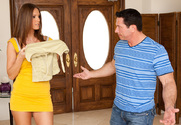 Jennifer Dark & John Strong in My Wife's Hot Friend - Sex Position 1