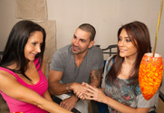 Raylene, Ava Addams & Marco Rivera in Neighbor Affair - Sex Position 1