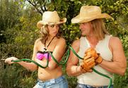 Jenny Hendrix & Evan Stone in Neighbor Affair story pic