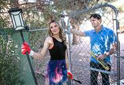 Jillian Janson & Preston Parker in Neighbor Affair story pic