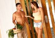 Juelz Ventura & Mick Blue in Neighbor Affair - Sex Position 1