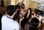 Gianna Lynn & Evie Delatosso & Evan Stone in Neighbor Affair story pic