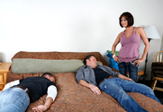 Tory Lane, Alec Knight & Mikey Butders in Neighbor Affair - Sex Position 1