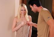 Kagney Linn Karter & Charles Dera in Naughty America - Sex Position 1
