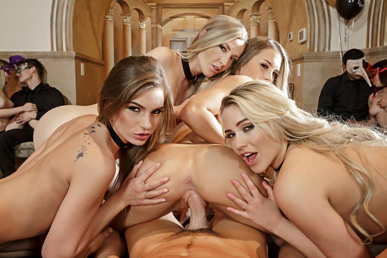 Karla Kush, Kendall Kayden, Mia Malkova & Sydney Cole