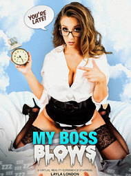 Boss Porn Video with American and Blow Job scenes