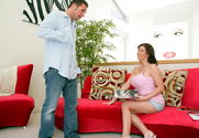 Sara Stone & David Perry in Naughty America - Sex Position 1