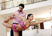 Ann Marie Rios & Charles Dera in Naughty Athletics - Sex Position 1
