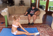 Capri Cavanni & Sergio in Naughty Athletics - Sex Position 1