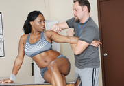 Jada Fire & Alec Knight in Naughty Athletics - Sex Position 1