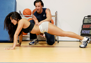 Jenaveve Jolie & Tony DeSergio in Naughty Athletics - Sex Position 1