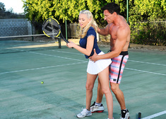 Katie Summers & Marco Banderas in Naughty Athletics - Centerfold