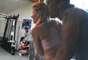 Hottie Hollie & Sindee Jennings & Reno & Tony DeSergio in Naughty Athletics