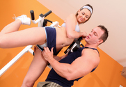 Victoria Lawson & TJ Cummings in Naughty Athletics story pic