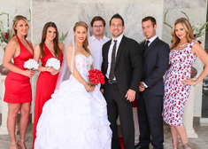 Brooklyn Chase & Johnny Castle in Naughty Weddings - Centerfold