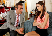 Belle Knox  & Steven St. Croix in Naughty Bookworms - Sex Position 1