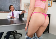 Brooke Haze & Tony DeSergio in Naughty Bookworms