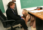 Cassandra Calogera & Evan Stone in Naughty Bookworms story pic