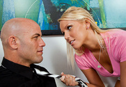 Vanessa Cage & Derrick Pierce in Naughty Bookworms story pic