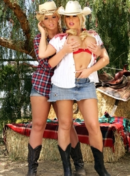 Brooke Haven, Emma Heart & Anthony Rosano in Naughty Country Girls - Centerfold