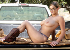 Sara Stone & Otto Bauer in Naughty Country Girls - Centerfold