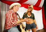 Shyla Stylez & Mark Wood in Naughty Country Girls story pic