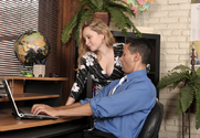 Aiden Starr & Gabriel D'Alessandro in Naughty Office