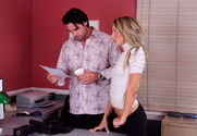 Amy Brooke & Charles Dera in Naughty Office - Sex Position 1