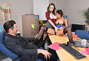 Ashley Adams & August Ames & Charles Dera in Naughty Office