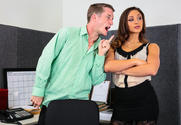 Bella Danger  & Brick Danger in Naughty Office - Sex Position 1