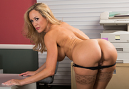 Brandi Love & Johnny Sins in Naughty Office - Sex Position 1