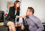 Bree Daniels & Johnny Castle in Naughty Office - Sex Position 1
