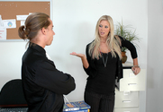 Brooke Banner & Kyle Moore in Naughty Office - Sex Position 1